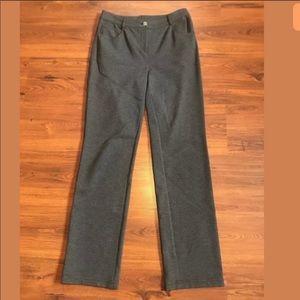 St. John Dress Pants in Dark Gray Size 4